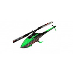 KIT GOBLIN BLACK THUNDER 700 GREEN/CARBON - (WITH THUNDERBOLT BLADES)