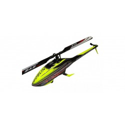 KIT GOBLIN BLACK THUNDER 700 YELLOW/CARBON - (WITH THUNDERBOLT BLADES)