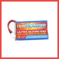 OptiPower ULTRA-GUARD 430 Back Up Solution Replacement 430Mah Lipo Battery