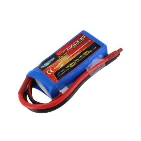 Optipower Ultra Racing Drone Pack 1300mAh 4S 14.8V 50C