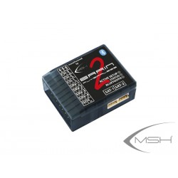 MSH Brain 2 Flybarless Helicoper Gyro System W/ Bluetooth