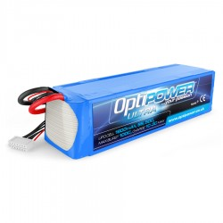 OPTIPOWER 6S 1800mAh 50C ULTRA Lipo