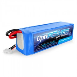 OPTIPOWER 5S 6000mah 25C F3A Competition Lipo