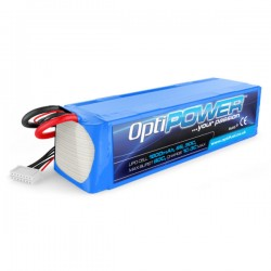 OPTIPOWER 6S 1600mAh 30C Lipo