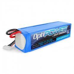 OPTIPOWER 6S 5000mAh 30C Lipo