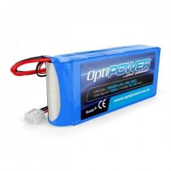 OptiPower Lipo Battery 2150mAh 2S1P 25C RX Pack